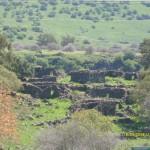 Rovine di un villaggio arabo