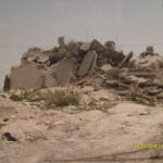 Casa palestinese demolita